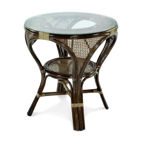 Стол обеденный «Мокко» из ротанга