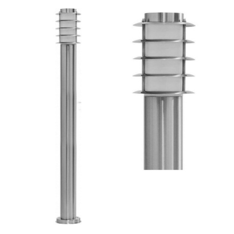 Садово-парковый светильник FERON DH027-1100 18W 230V E27 серебро