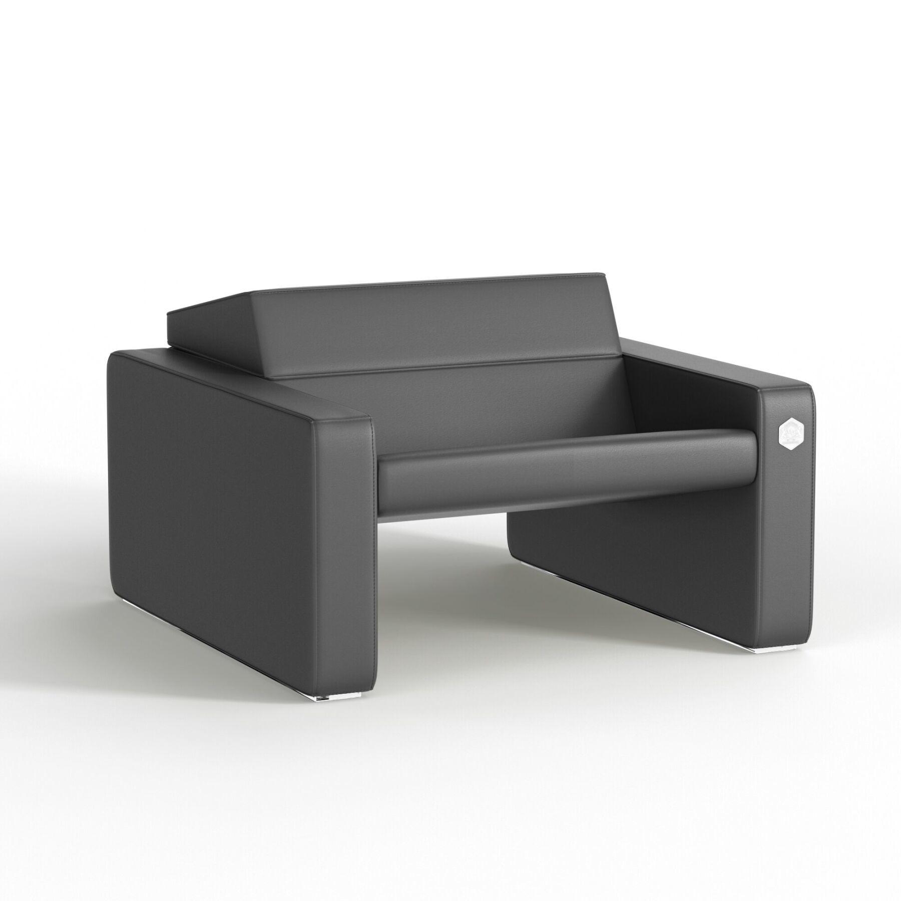 Мягкое кресло KULIK SYSTEM SMART Кожа 1