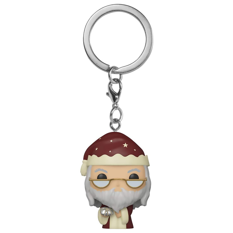 Брелок Funko Pocket POP! Keychain: Harry Potter: Holiday: Dumbledore 51207-PDQ