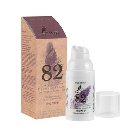 Sativa Сыворотка успокаивающая №82 для регенерации чувствительной кожи