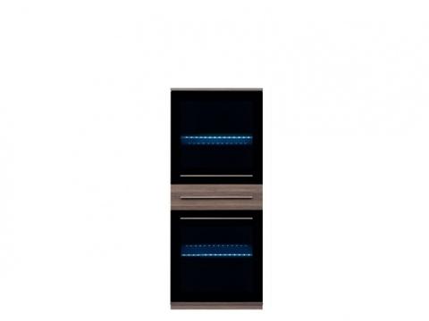 Витрина навесная с подсветкой лайкlike SFW 2W1S14