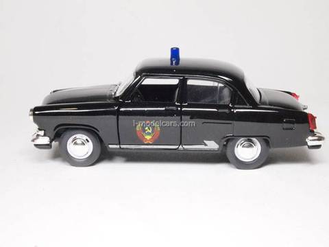 GAZ-21 Volga KGB government AutoTime 1:43