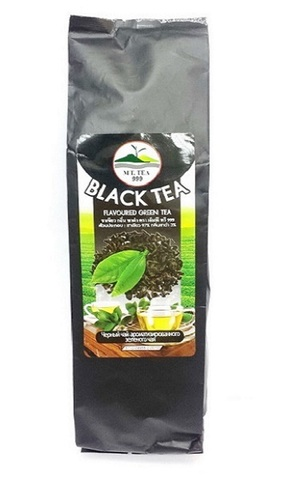 Зелёный чай со вкусом Чёрного Чая. 100 гр.
