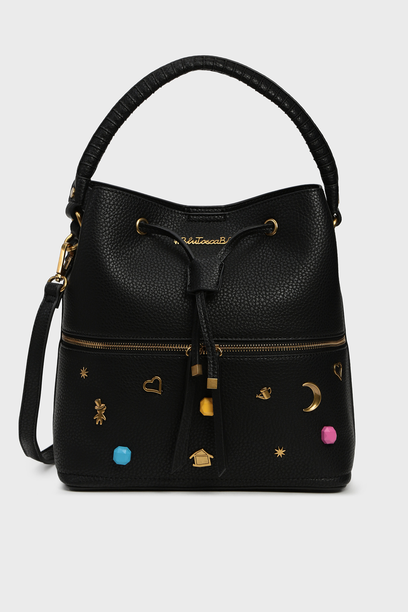 Женская черная сумка через плечо ARMY Tosca Blu
