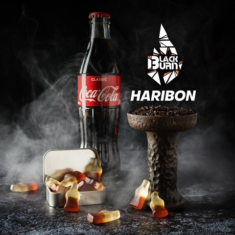 Табак Burn Black Haribon (Мармелад кола) 100 г