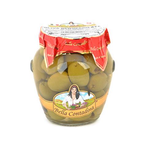 Оливки зеленые (без косточки) Бахрушинъ 0.29кг