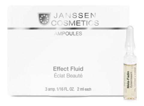 Осветляющие ампулы Janssen Мela-Fadin,3 амп.х2 мл.