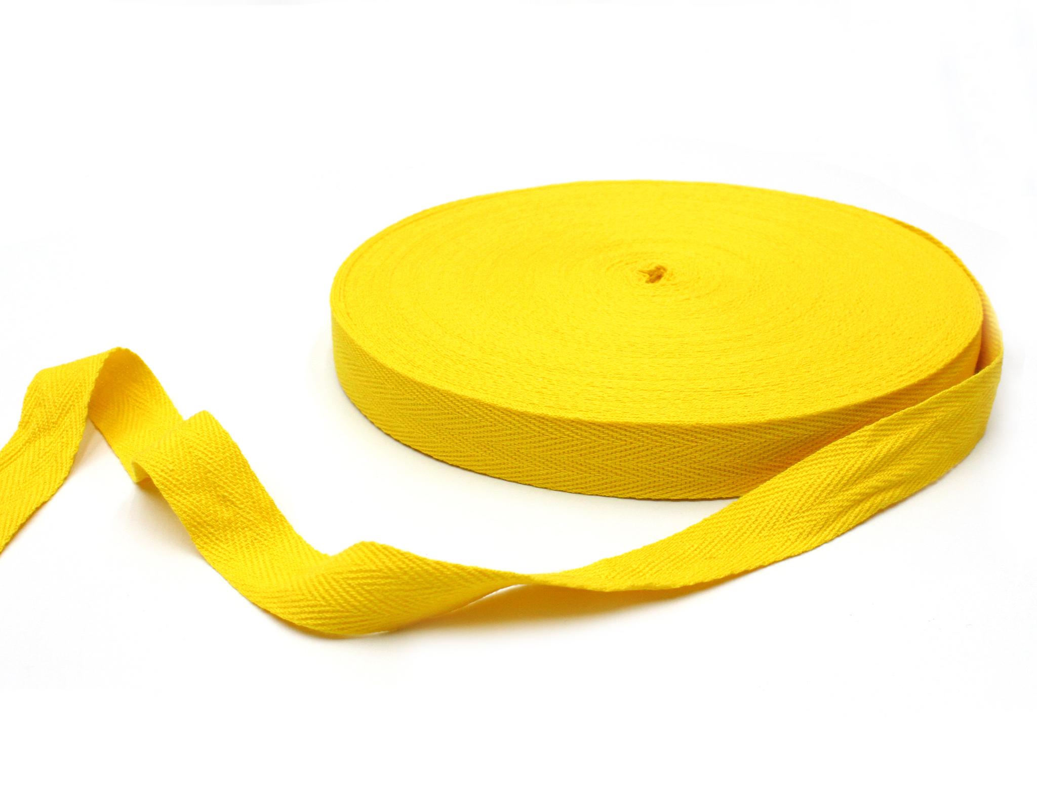 Лента киперная,желтая,2 см