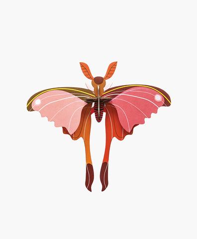 Бумажная фигура Pink Comet Butterfly