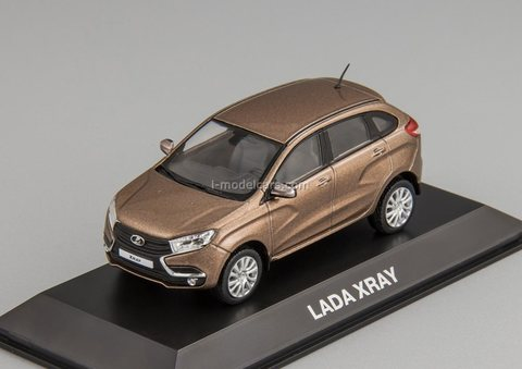 Lada Xray 2016 brown metallic 1:43 Lada-Image