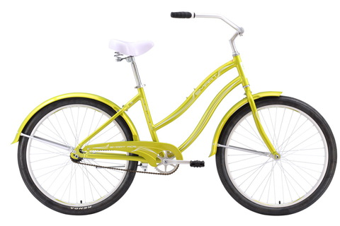 Smart Cruise Lady 300 (2016) желтый с белым