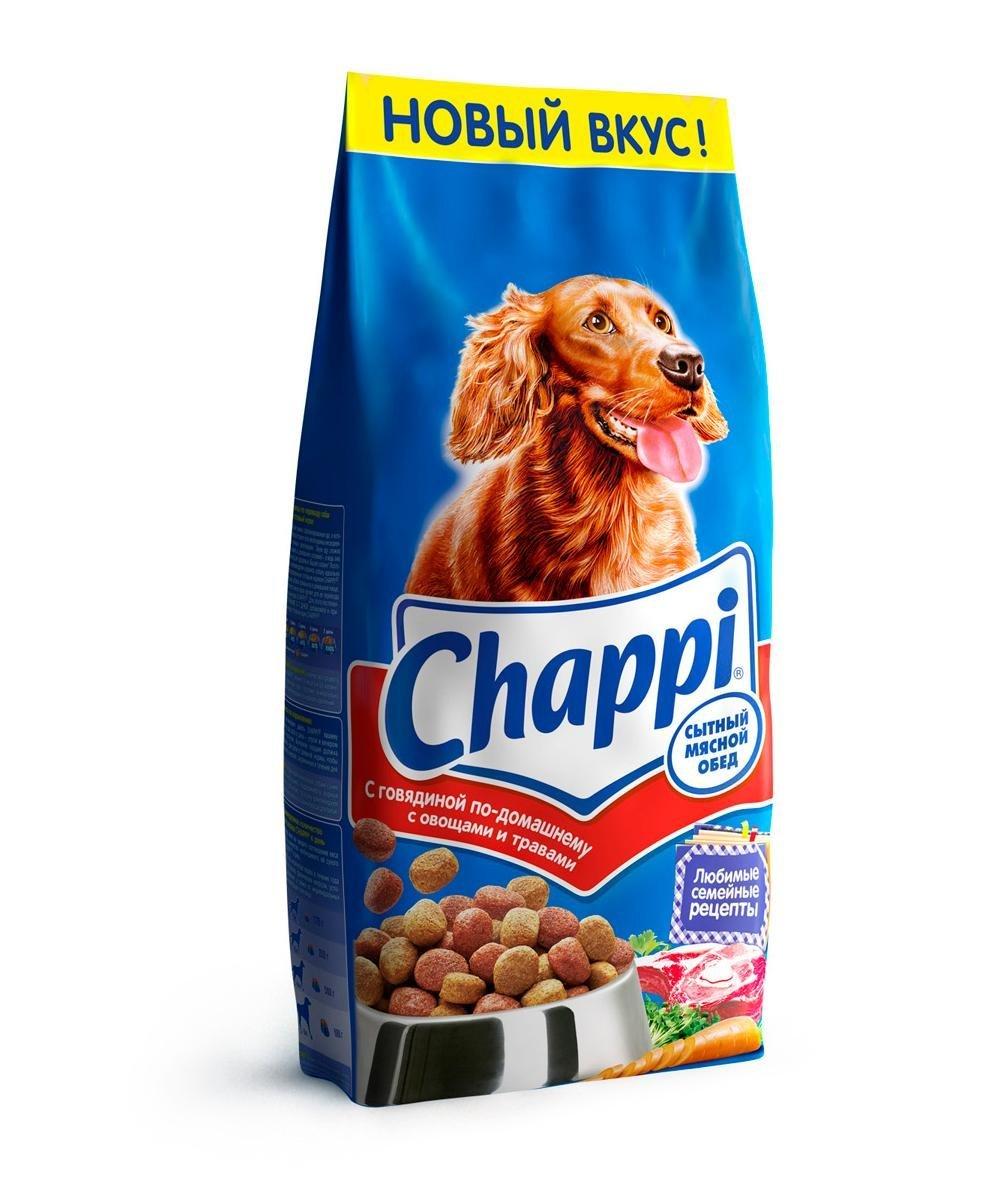Сухой корм Chappi
