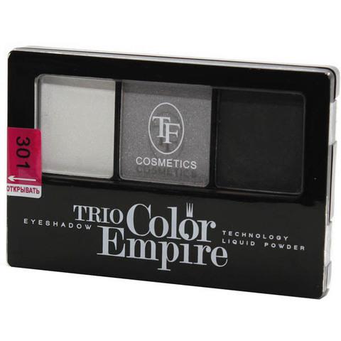 ТФ Тени трехцветные компактные тон 301 серый жемчуг CTE-22