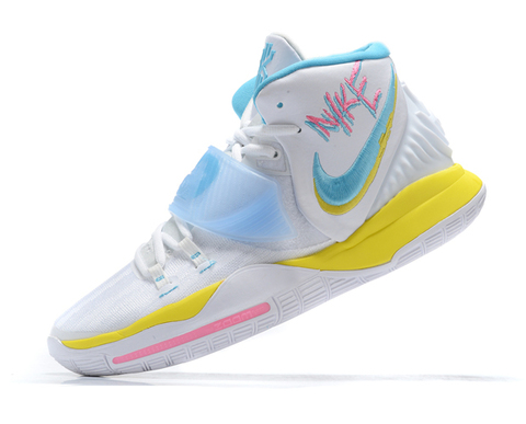 Nike Kyrie 6 'White/Yellow/Blue'