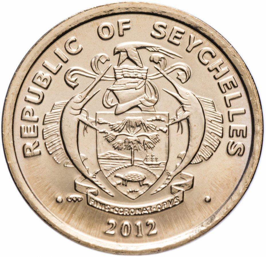 10 центов. Сейшелы. 2012 год. UNC