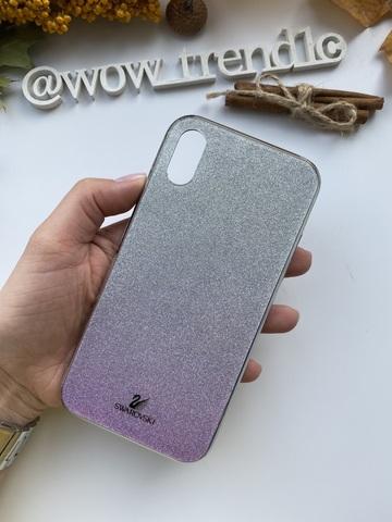 Чехол iPhone 11 Pro Swarovski Case /purple/