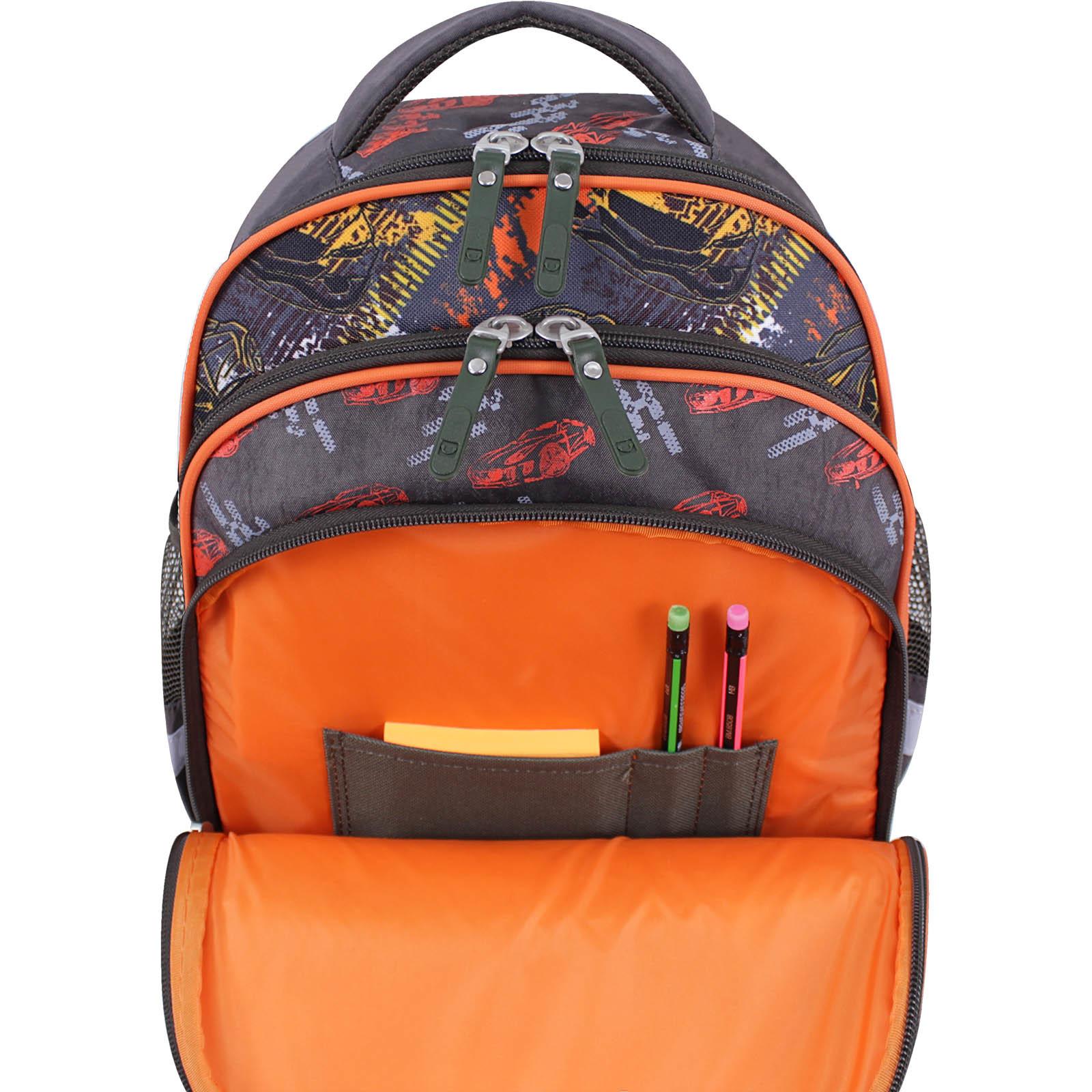 Рюкзак школьный Bagland Mouse хаки 666 (00513702)