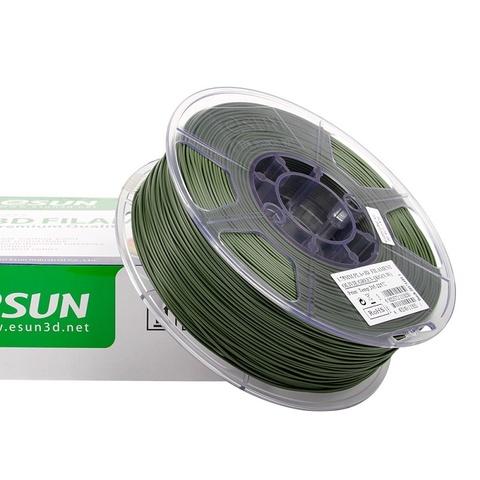 ESUN PLA+ 1.75 мм 1кг., оливковый