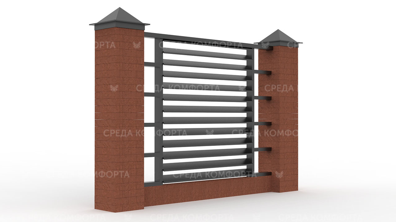 Забор жалюзи ZBR0133