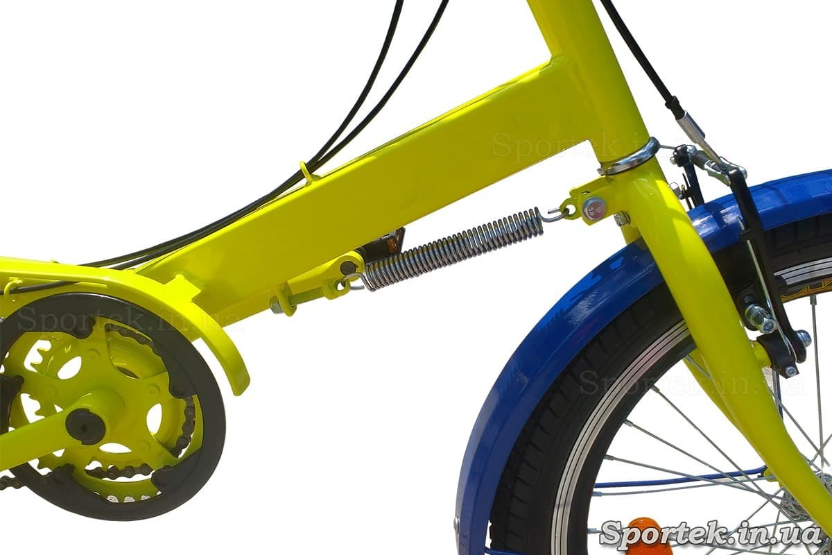 Доводчик керма на триколісних велосипедах 'Атлет'