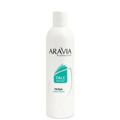 ARAVIA Professional, Тальк с ментолом, 300 гр