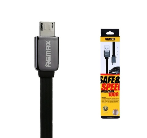 Remax / Кабель Chanel microUSB - USB черный | 1м