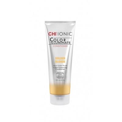 CHI Ionic Color Illuminate: Кондиционер оттеночный для волос Золотистый блонд (Golden Blonde), 251мл