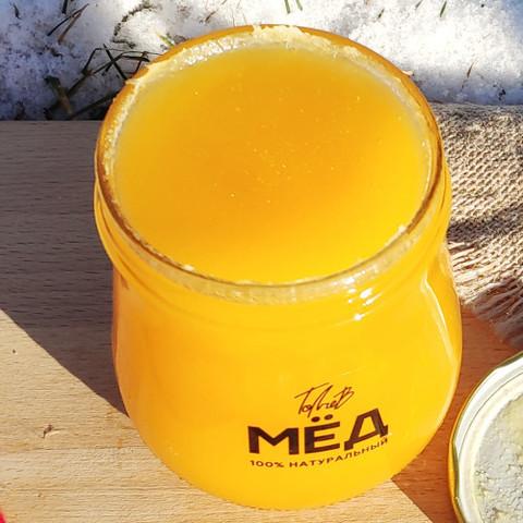 Мёд цветочный середина лета 2020 Ивановка 660 г