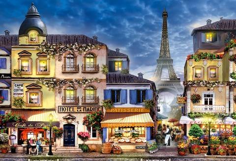 Завтрак в Париже ART (Wooden City)