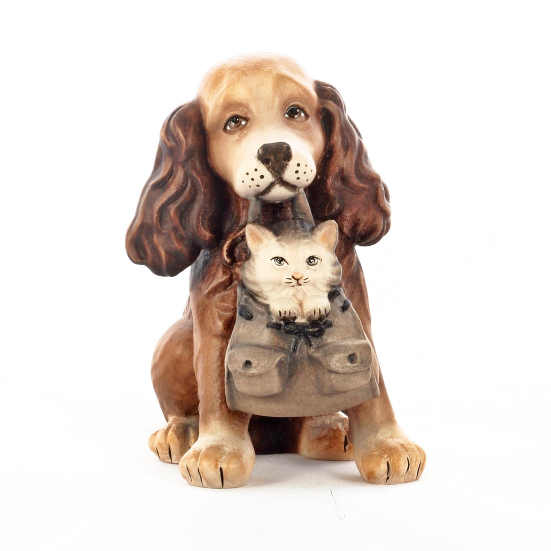 Пёс с котёнком