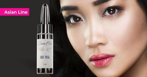 Пигменты для губ DemiColor Asian Line — Hot Pink (Ярко розовый) 7мл