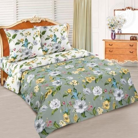 Комплект постельного белья Жаклин DE LUXE с простынью на резинке