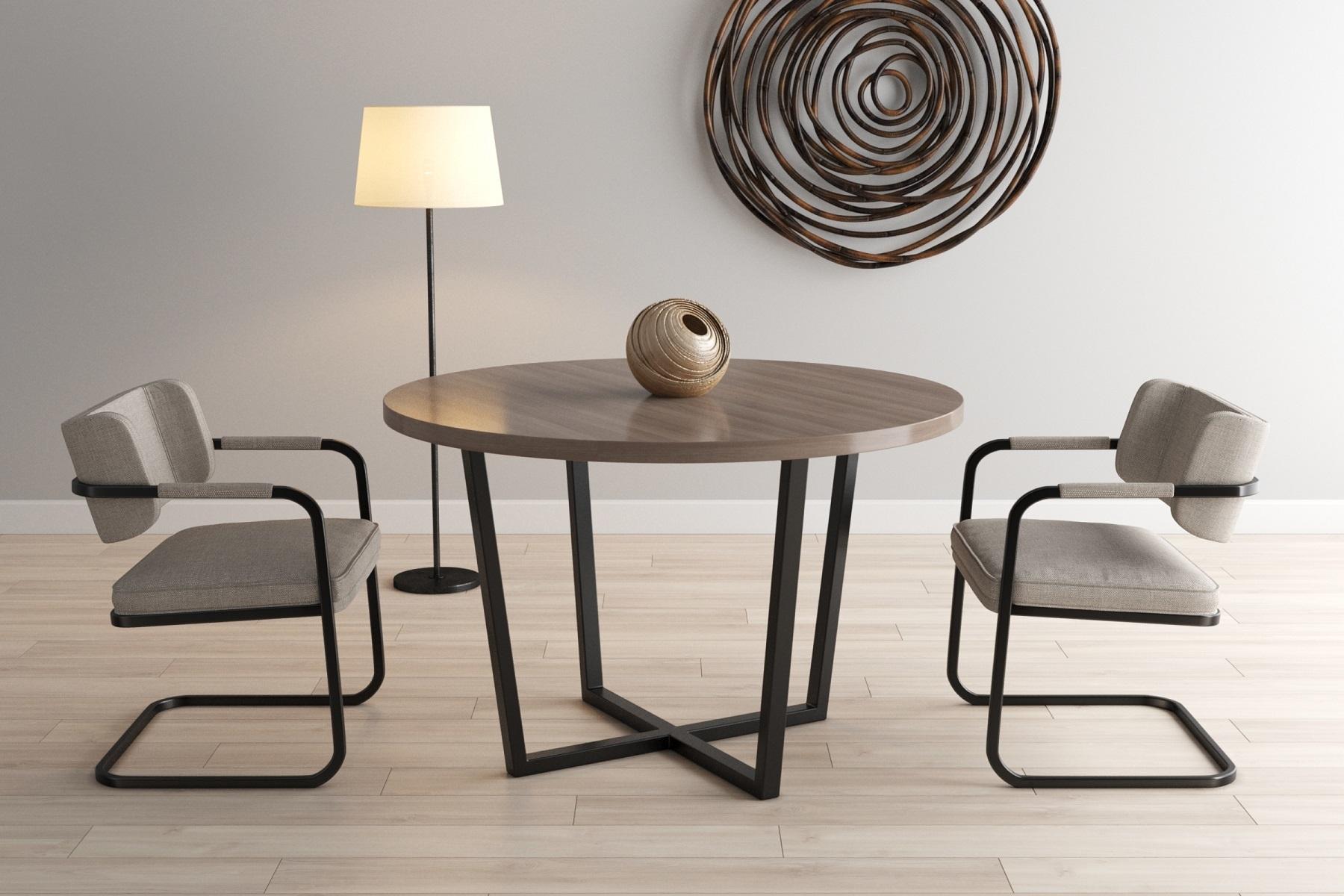Обеденный стол Omega Ø110 - вид 2