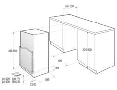 Холодильник Korting KSI 8251 схема