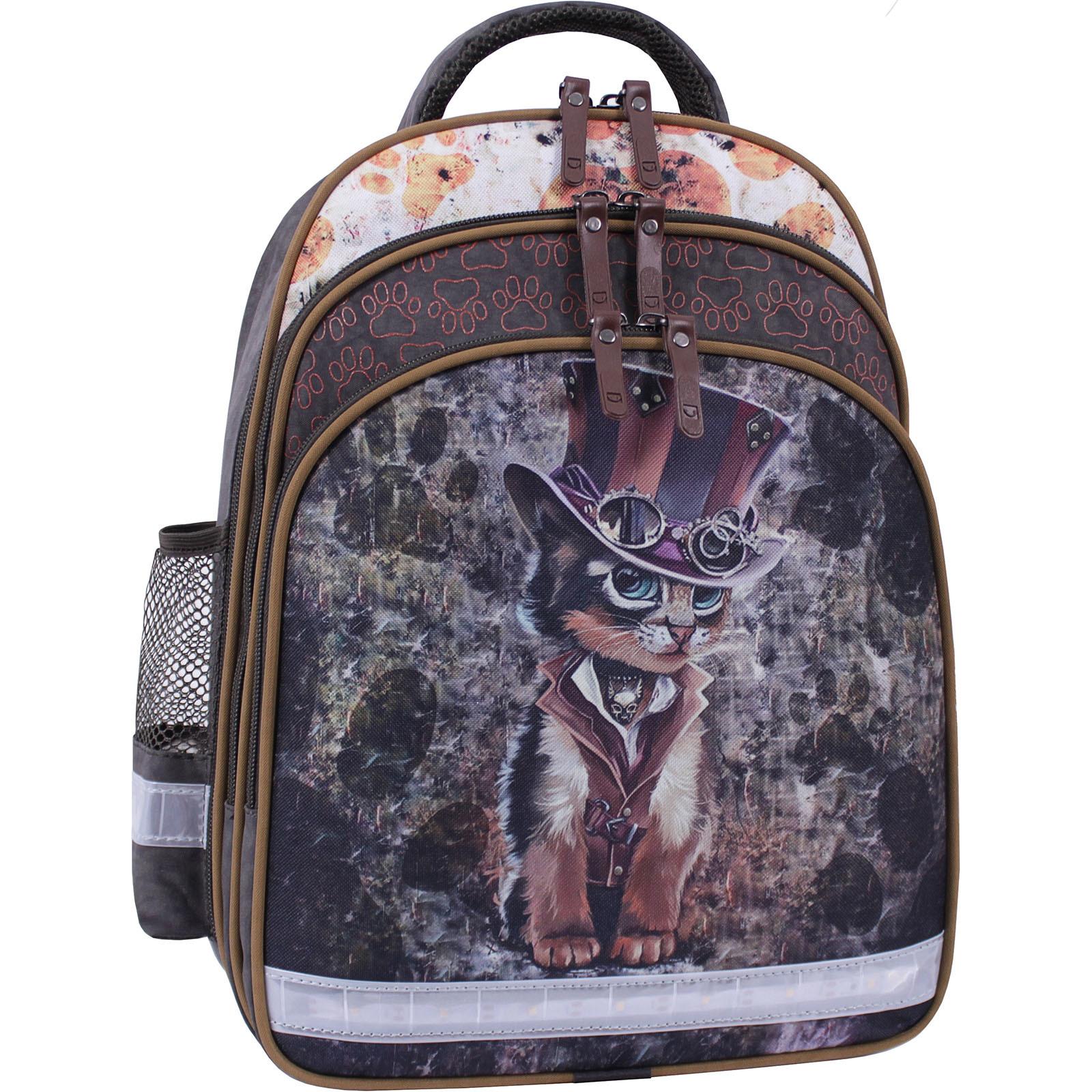 Рюкзак школьный Bagland Mouse 327 хаки 513 (0051370) фото 1