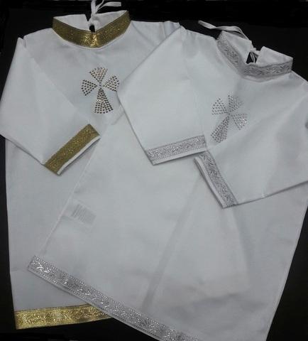 Крестильная рубашка Михаил