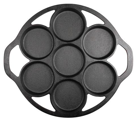 Чугунная форма для кексов 7 ячеек, артикул L7B3