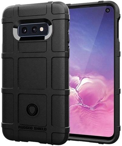 Чехол для Samsung Galaxy S10e цвет Black (черный), серия Armor от Caseport