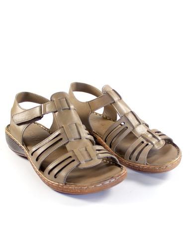 бежевые сандалии SM