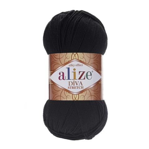Пряжа Alize Diva Stretch цвет 060