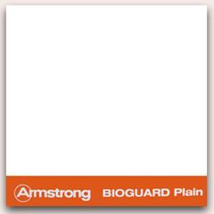 АРМСТРОНГ Плита потолочная Биогуард 600х600х15мм (1шт) кромка Борд