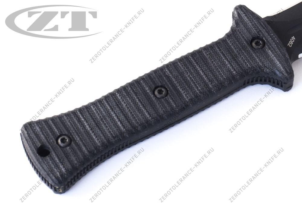 Нож Zero Tolerance 0150 Galyean Boot Knife - фотография
