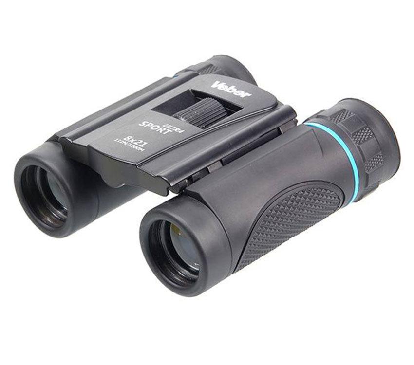 Бинокль Veber Sport Ultra БН 8x21 black - фото 1