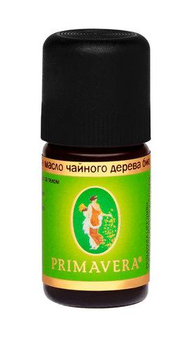 PRIMAVERA LIFE Эфирное масло чайного дерева био, 5мл