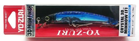Воблер Yo-Zuri Crystal 3D Minnow 90 F / F1145-C24
