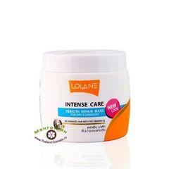 Маска кератиновая для восстановления волос Общее лечение, Lolane