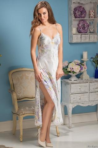 Сорочка ночная женская шелковая MIA-Amore  Lilianna Лилианна   5996