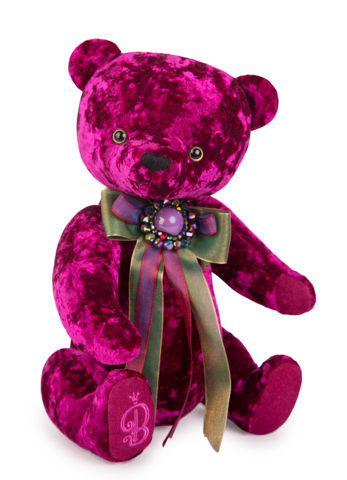 Медведь БернАрт пурпурный