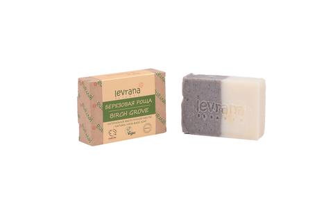 Levrana, Натуральное мыло ручной работы Березовая роща,100гр